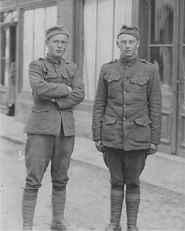 Hubert Kelley and Fred Newby, 1918